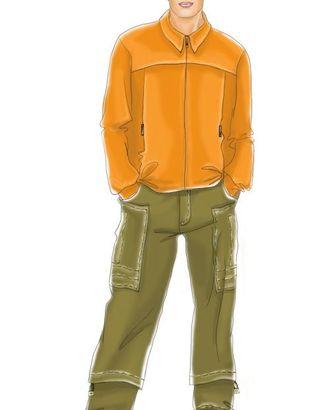 Выкройка: брюки арт. ВКК-1862-1-ЛК0006038