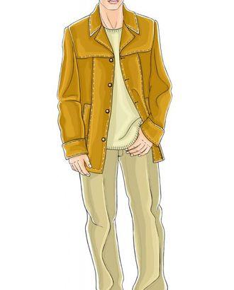 Выкройка: кожаный жакет арт. ВКК-1048-1-ЛК0006046