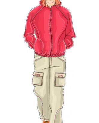 Выкройка: светлые нейлоновые брюки арт. ВКК-1556-1-ЛК0006059