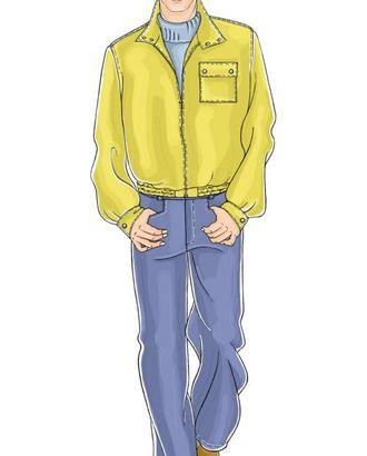 Выкройка: серые брюки арт. ВКК-480-1-ЛК0006062