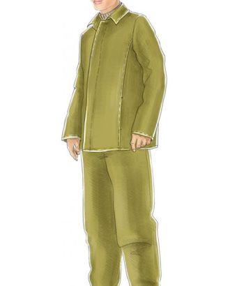 Выкройка: костюм сварщика мужской (куртка) арт. ВКК-1954-1-ЛК0006085