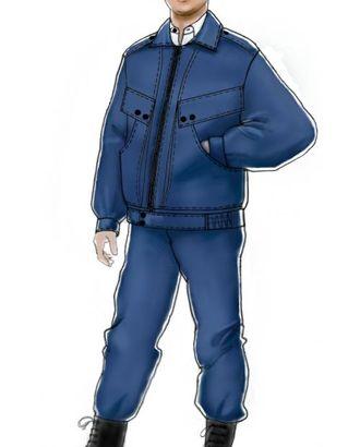 Выкройка: куртка охранника арт. ВКК-1546-1-ЛК0006088