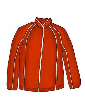 Выкройка: спортивная куртка с рукавом реглан арт. ВКК-918-1-ЛК0006098