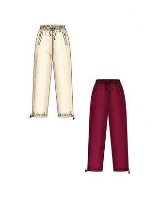 Выкройка: спортивные брюки арт. ВКК-1049-1-ЛК0006099