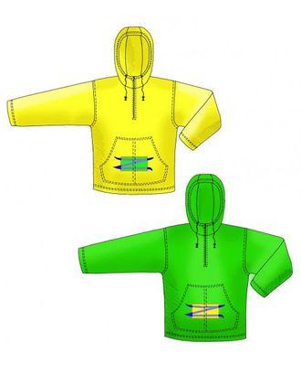 Выкройка: толстовка с капюшоном и карманом-кенгуру арт. ВКК-394-1-ЛК0006103
