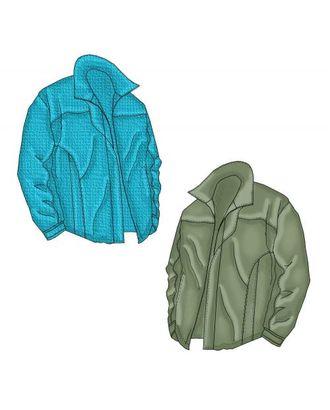 Выкройка: утепленная куртка с отлетной вставкой арт. ВКК-1997-1-ЛК0006105
