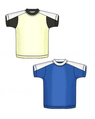 Выкройка: футболка с кокеткой арт. ВКК-1329-1-ЛК0006106