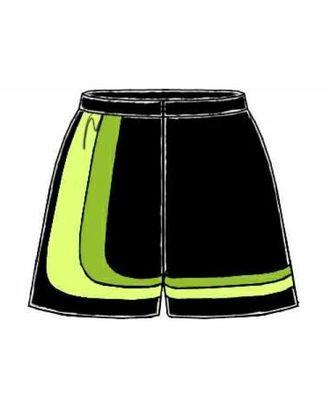 Выкройка: шорты с фигурными полосами арт. ВКК-1098-1-ЛК0006109