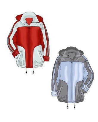 Выкройка: куртка с отстегивающимся капюшоном арт. ВКК-601-1-ЛК0006116