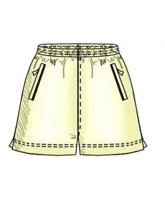 Выкройка: мужские шорты с кокеткой сзади арт. ВКК-835-1-ЛК0006119