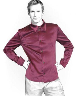 Выкройка: рубашка приталенная арт. ВКК-1845-1-ЛК0006132