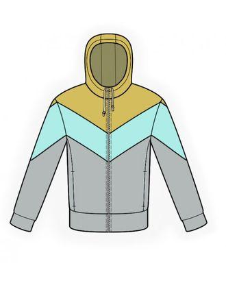 Выкройка: куртка с капюшоном арт. ВКК-848-1-ЛК0006137