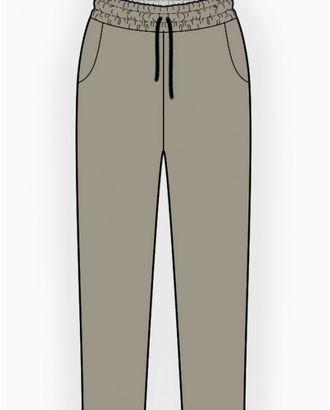 Выкройка: трикотажные брюки арт. ВКК-1114-1-ЛК0006140