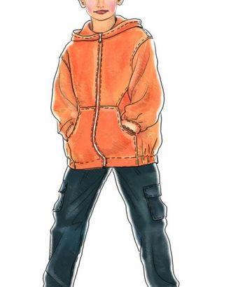 Выкройка: куртка-ветровка арт. ВКК-1772-1-ЛК0007011