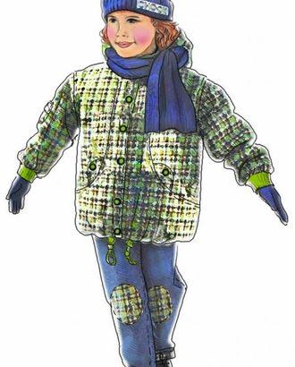 Выкройка: куртка в клетку арт. ВКК-1519-1-ЛК0007012