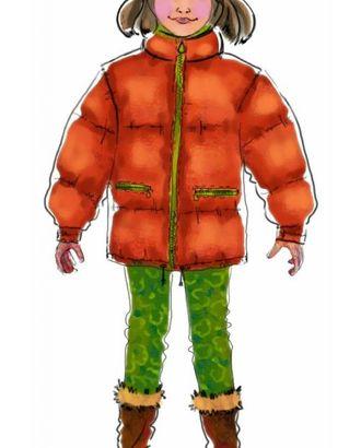 Выкройка: куртка стеганая арт. ВКК-1771-1-ЛК0007014