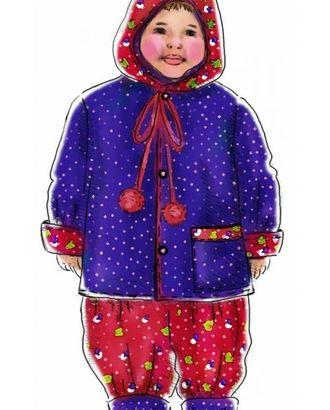 Выкройка: курточка с капюшоном-колпаком арт. ВКК-1803-1-ЛК0007016