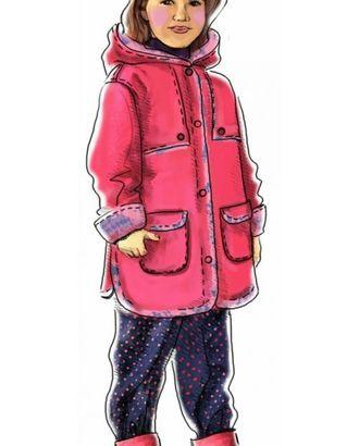Выкройка: пальто с отлетной кокеткой и капюшоном арт. ВКК-1326-1-ЛК0007021
