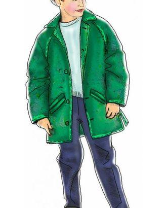 Выкройка: пальто с рукавом-реглан арт. ВКК-476-1-ЛК0007022