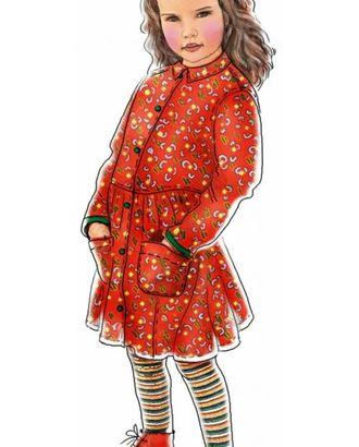 Выкройка: платье-халат арт. ВКК-1169-1-ЛК0007025