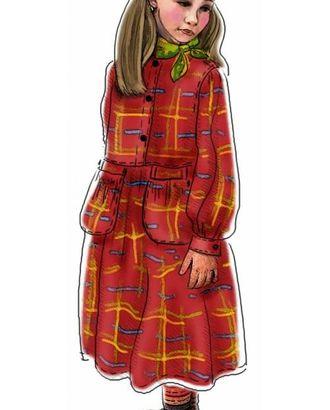 Выкройка: платье с навесными карманами арт. ВКК-1688-1-ЛК0007027