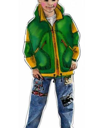 Выкройка: цветная спортивная куртка арт. ВКК-612-1-ЛК0007034