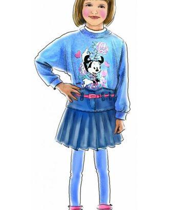 Выкройка: юбка джинсовая арт. ВКК-1251-1-ЛК0007036