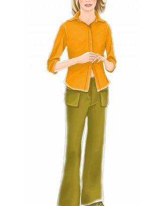 Выкройка: болотные брюки с накладными карманами арт. ВКК-194-1-ЛК0007041