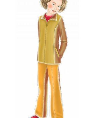 Выкройка: куртка с рельефами арт. ВКК-1318-1-ЛК0007054