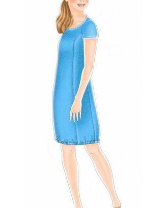 Выкройка: летнее платье арт. ВКК-1146-1-ЛК0007055