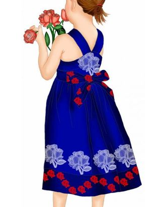 Выкройка: платье-сарафан арт. ВКК-1266-1-ЛК0007078