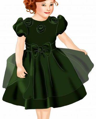 """Выкройка: платье с рукавом """"фонарик"""" арт. ВКК-1130-1-ЛК0007086"""