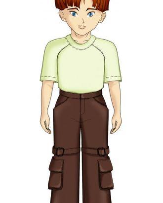 Выкройка: брюки с пряжкой на колене арт. ВКК-1898-1-ЛК0007105