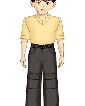 Выкройка: брюки с накладными карманами арт. ВКК-1588-1-ЛК0007110