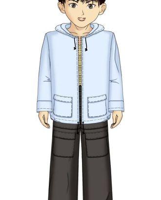 Выкройка: куртка с накладными карманами арт. ВКК-779-1-ЛК0007115