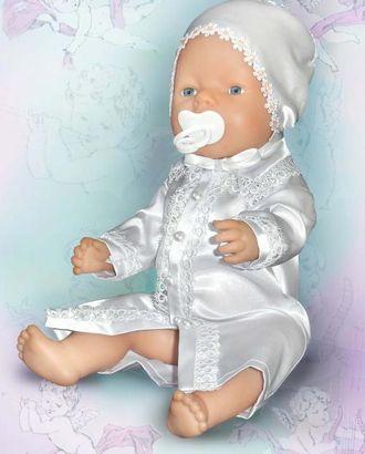 Выкройка: рубашка для крещения мальчика арт. ВКК-1764-1-ЛК0007138