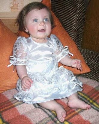 Выкройка: платье для крещения девочки арт. ВКК-1028-1-ЛК0007139