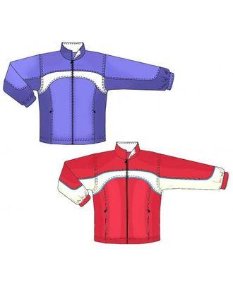 Выкройка: спортивная куртка с карманами в рельефе арт. ВКК-839-1-ЛК0007149