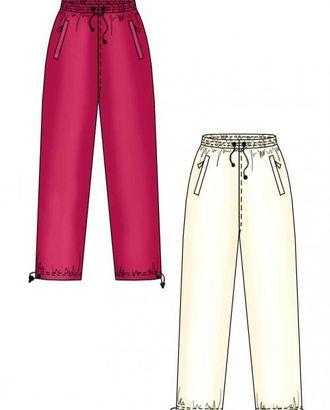 Выкройка: спортивные брюки арт. ВКК-1622-1-ЛК0007156