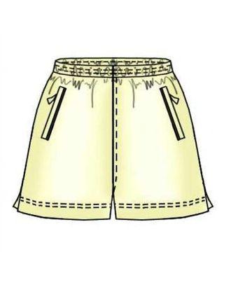 Выкройка: шорты с кокеткой сзади арт. ВКК-804-1-ЛК0007158