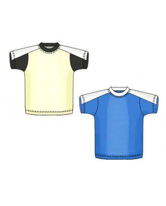 Выкройка: футболка с кокеткой арт. ВКК-1740-10-ЛК0007162