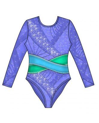 Выкройка: купальник гимнастический арт. ВКК-294-1-ЛК0007164