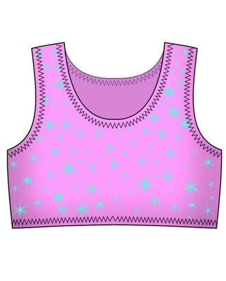 Выкройка: спортивная майка для девочки арт. ВКК-1219-1-ЛК0007165