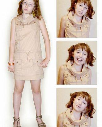 Выкройка: подростковое спортивное платье арт. ВКК-176-1-ЛК0007168