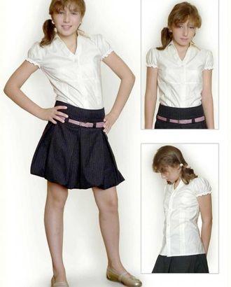 Выкройка: белая блузка арт. ВКК-1380-1-ЛК0007169
