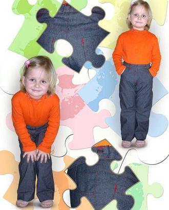 Выкройка: джинсы арт. ВКК-1557-1-ЛК0007178