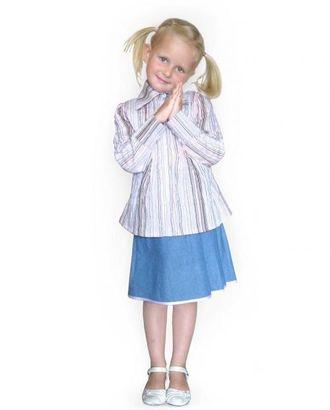 Выкройка: блуза с защипами арт. ВКК-1206-1-ЛК0007192