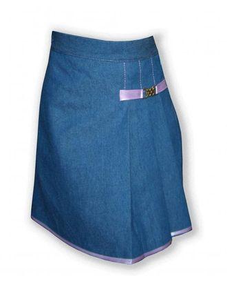 Выкройка: юбка с асимметричными складками арт. ВКК-1117-1-ЛК0007200