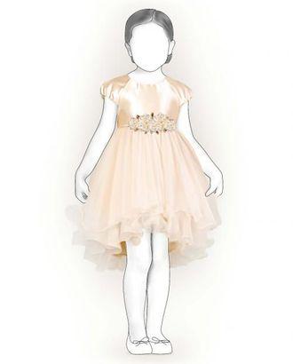 Выкройка: платье-реглан арт. ВКК-640-1-ЛК0007206