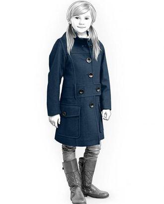 Выкройка: пальто подростковое арт. ВКК-1677-1-ЛК0007207